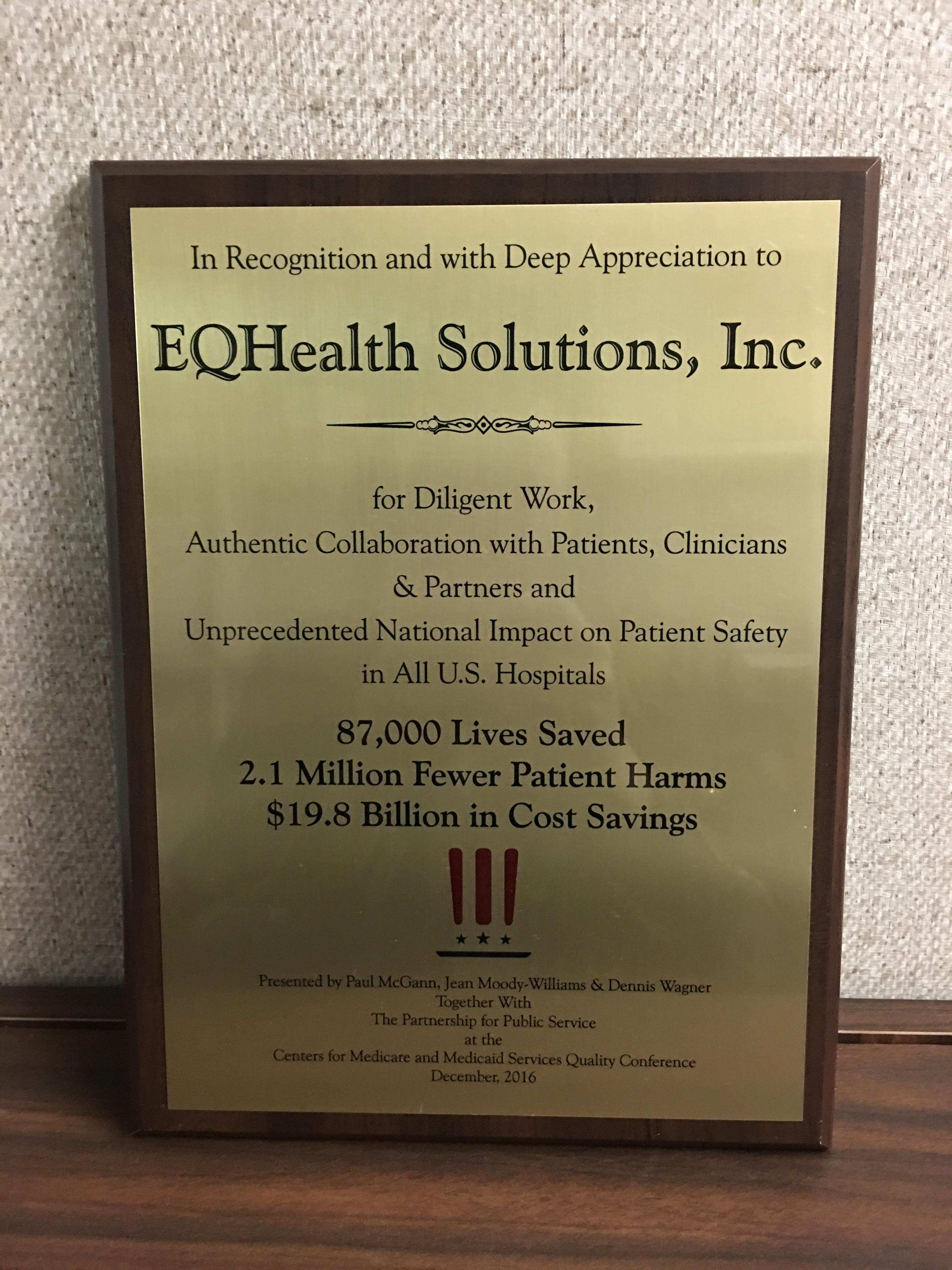 CMS Awards eQHealth Solutions