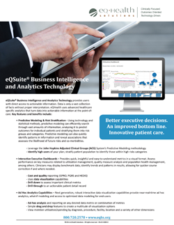 Healthcare Business Intelligence Software